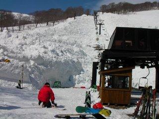 月山スキー場10