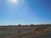 グライダー着陸1