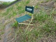 斜面用パイプ椅子