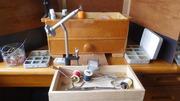 毛鉤巻き道具