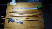 タナゴ竿作り竹選び