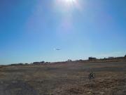 グライダー着陸2