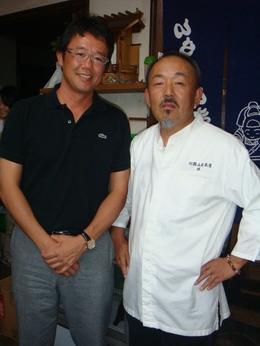 古田さんと社長 ご本人は、とっても礼儀正しい方で、物腰の柔らかいとても素敵な方でしたたく...