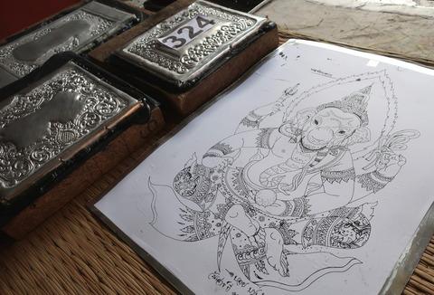 Silver craft workshop