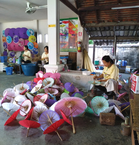 201911_Chinag Mai_Bo Sang Umbrella Making Centre_D2-3-2