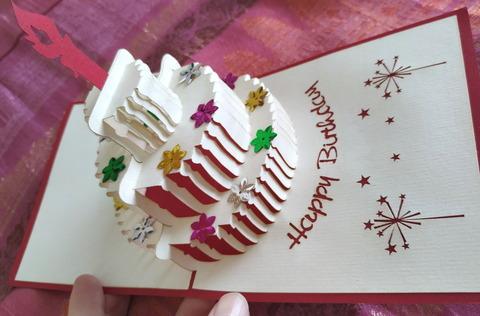 Vietnam Handmade Pop Up Greeting Card_Birthday_03