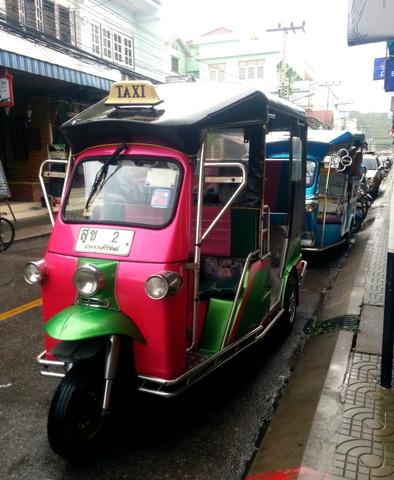 Motor tricycle taxi_Tuk Tuk