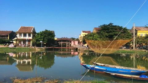 Hoi An Town_Thu Bon River