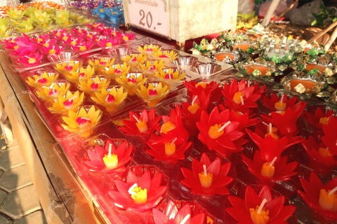 lovely flower candles