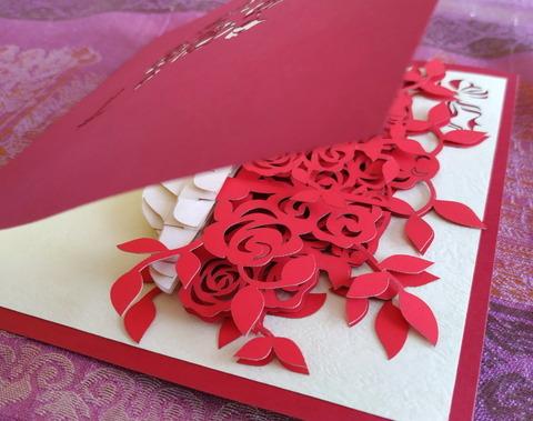 Vietnam Handmade Pop Up Greeting Card_02