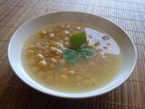 ヒヨコマメのスープ