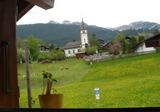 家の窓から教会も。。。