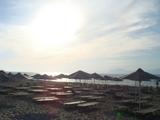 夕方誰もいないビーチ。。。