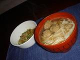 納豆オクラとベトナム麺