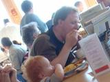 子供とポテト