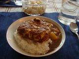オム納豆カレー