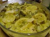 チキンレモンソース煮アップ