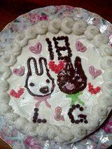 梓のケーキ