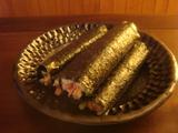 その後の巻き寿司