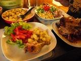 チキンの晩御飯