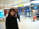 GENEVE空港で