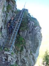 この階段。。。