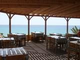 海岸沿いのレストラン