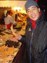 北京〜ヒトデを持つ父