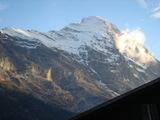 山がキラキラ