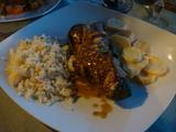 ズッキーニと豚肉のオーブン焼