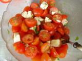トマトモツァレラ