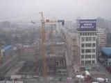 北京〜ホテルの前が工事中
