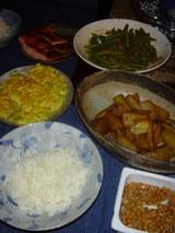 10月27日の晩御飯