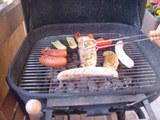 BBQ夕食