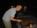 BBQ係りのホウちゃん