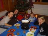 子供達のテーブル