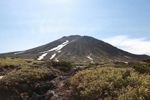 6/26、当麻乗越~愛山渓、裾合平を見てきました。