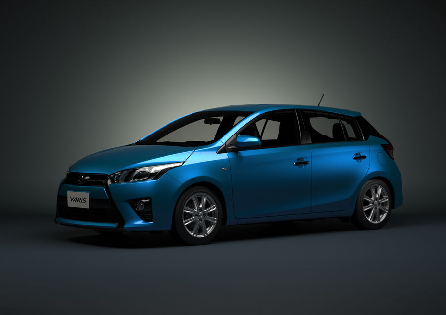 Toyota Yaris 2014 Hatchback the Chinese Yaris rides on