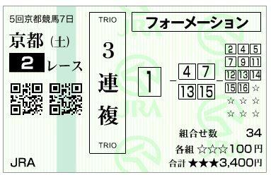 20181124京都2Rハズレ