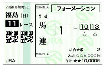 20180701ラジオNIKKEI賞ハズレ