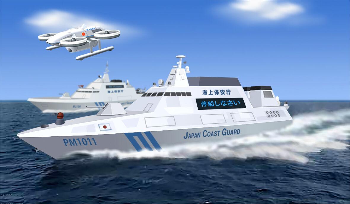 夢創艦隊 新世代 海上保安庁 600トン型巡視船「いしがき」 : ヤマネの ...