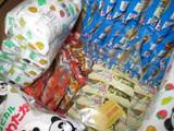 駄菓子いっぱい。