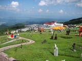 標高2000mから上田、浅間山方面