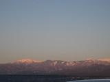 仙丈ケ岳の夕焼け