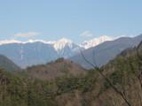 あ!聖岳です。