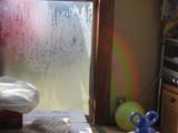 ボールから虹?