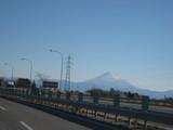 富士山だ〜!