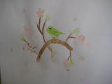花が描いた春の絵