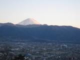 甲府からの富士