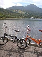 今日から信州サイクリング!まずは女神湖